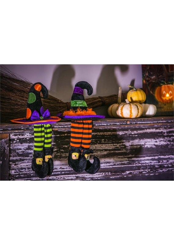 ***Halloween Witch Shelf Sitters