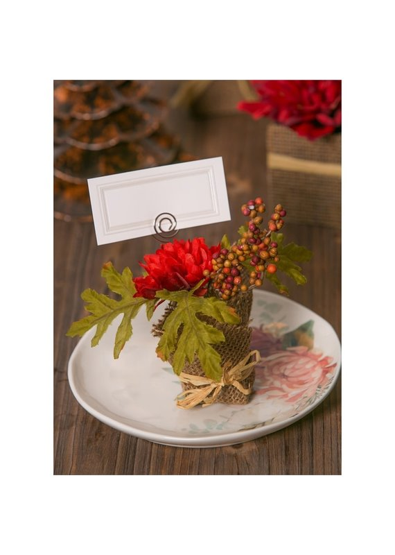 ***Fall Floral Place Card Holder
