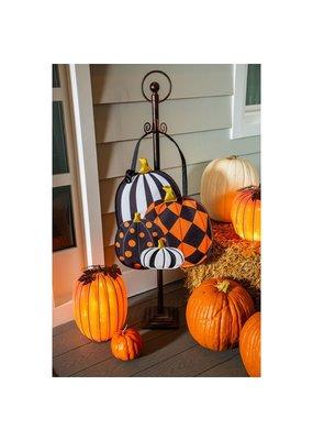 ***Patterned Pumpkins Door Hanger
