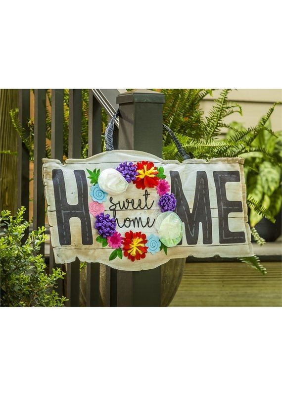 ***Home Sweet Home Sign Door Hanger