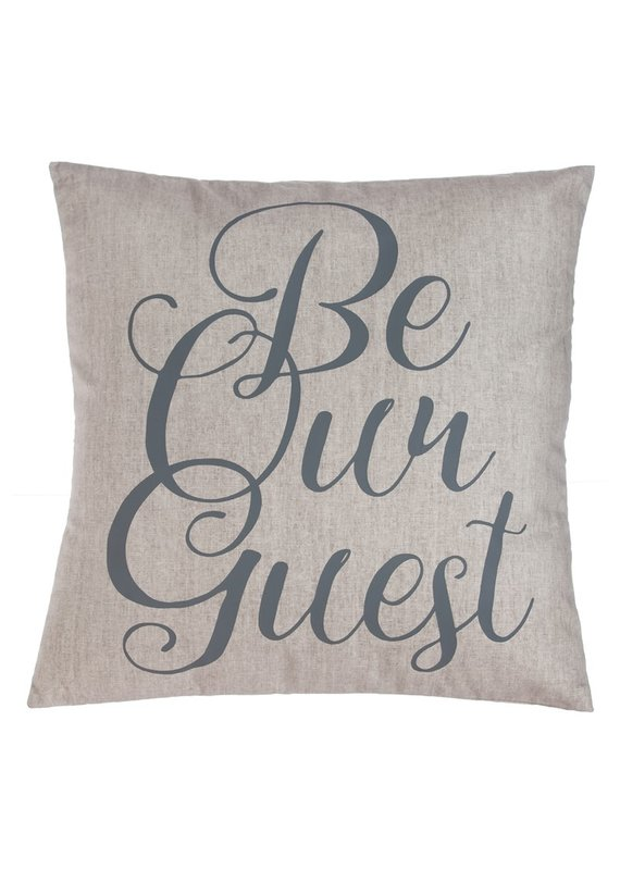 "***Be Our Guest 18"" Pillow"