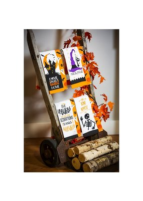 ***Halloween Kitchen Towel 2pc.