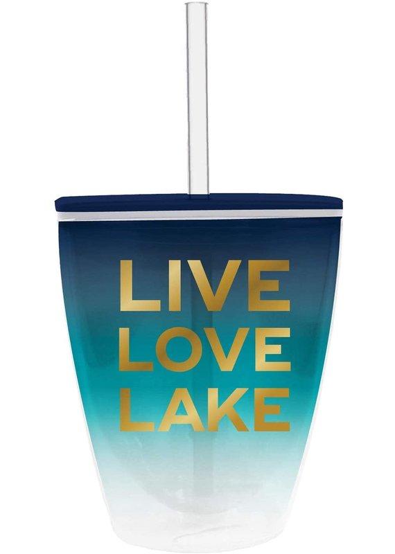 ***Live Love Lake Tumbler