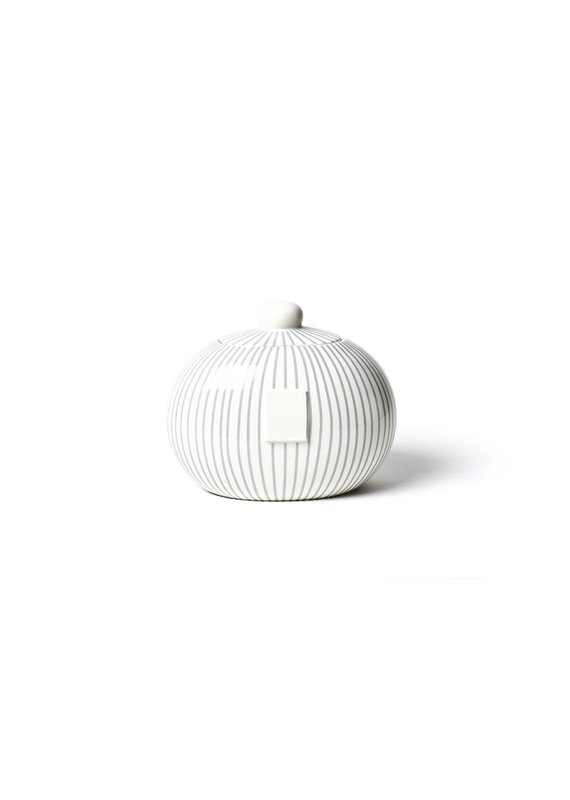 Cotton Colors ***Happy Everything Skinny Striped Mini Cook Jar