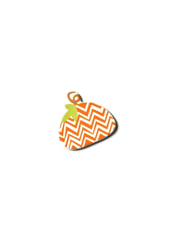 Cotton Colors ***Happy Everything Chevron Pumpkin Mini Attachment