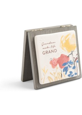 ***Grandmas make Life Grand Card Keepsake