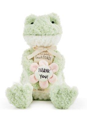 ****GratiTOAD Stuffed Frog