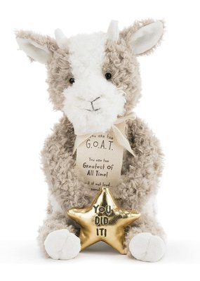***Greatest of All Time (GOAT) Goat Stuffed Animal