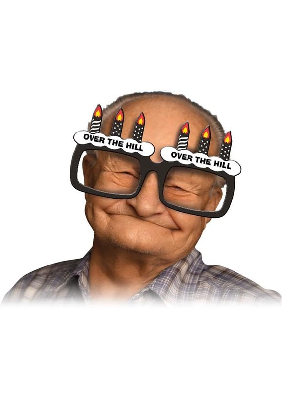 ***Over the Hill Jumbo Glasses