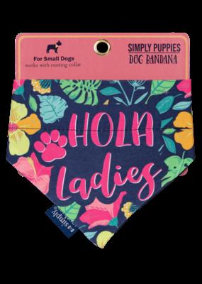 ***Simply Southern Dog Bandana Hola Ladies