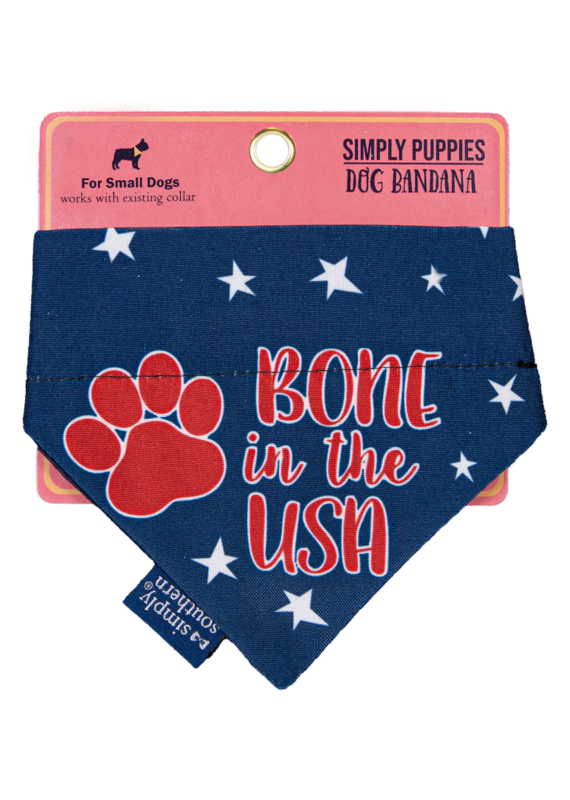 ***Simply Southern Dog Bandana Bone in the USA