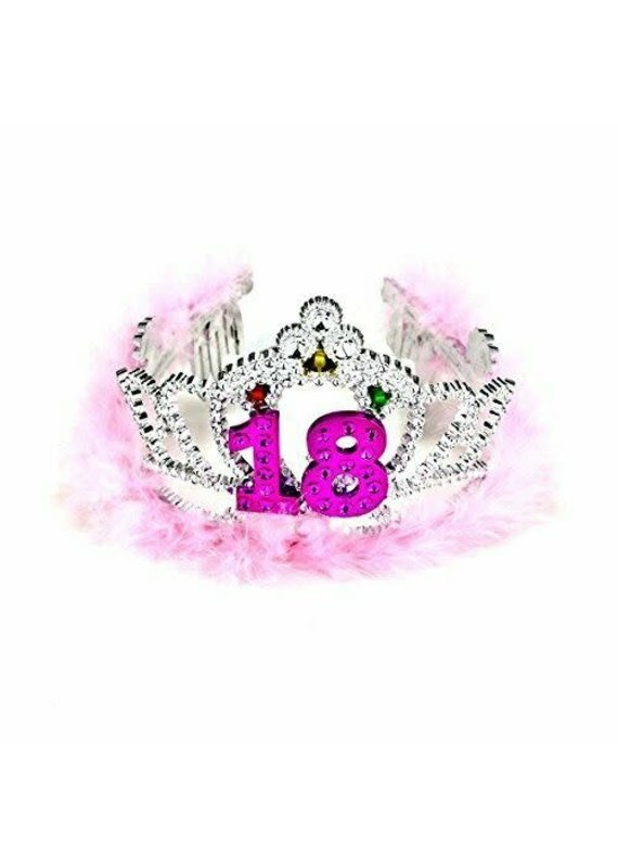 ***18th Birthday Flashing Tiara