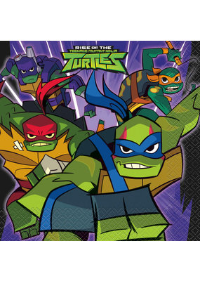 ***Rise of the TMNT Luncheon Napkins, 16ct