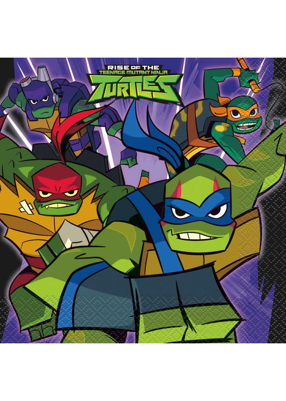 *****Rise of the TMNT Luncheon Napkins, 16ct