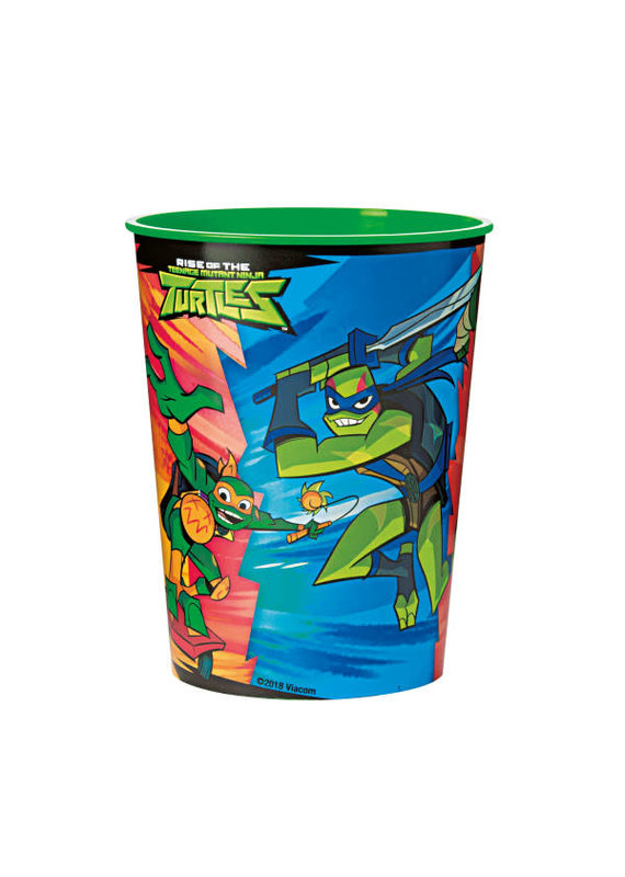 *****Rise of the TMNT 16oz Plastic Cup