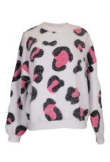 ***Simply Southern Sweater Cheetah Pink