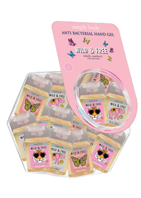 ***Simply Southern Mini Gel Hand Sanitizer Wild & Free(1ct)