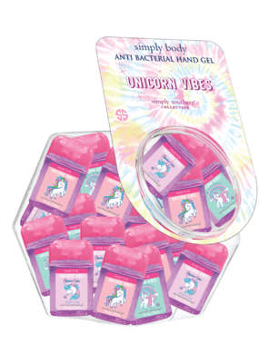 ***Simply Southern Mini Gel Hand Sanitizer Unicorn Vibes (1ct)