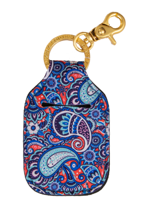 ***Simply Southern Key Chain Hand Sanitizer Pouch Paisley