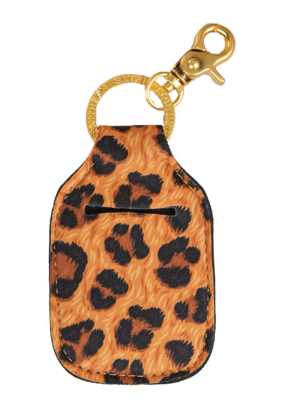 ***Simply Southern Key Chain Hand Sanitizer Pouch Leopard