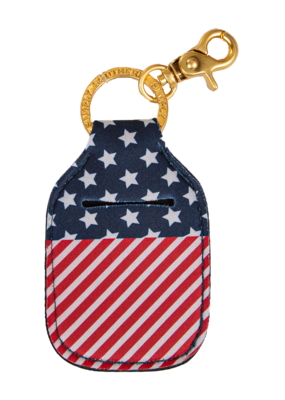 ***Simply Southern Key Chain Hand Sanitizer Pouch American