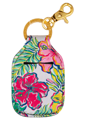 ***Simply Southern Key Chain Hand Sanitizer Pouch Tropic