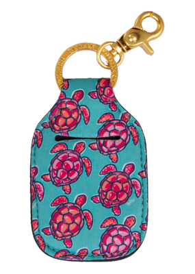 ***Simply Southern Key Chain Hand Sanitizer Pouch Turtle