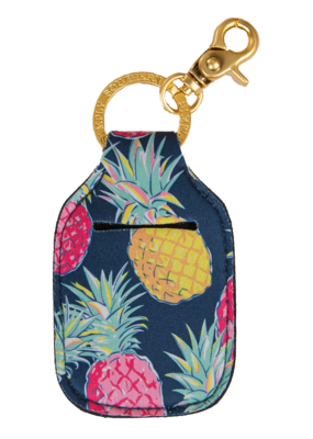 ***Simply Southern Key Chain Hand Sanitizer Pouch Pineapple