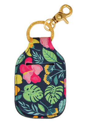 ***Simply Southern Key Chain Hand Sanitizer Pouch Garden