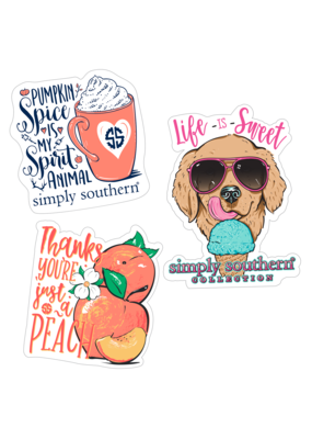 ***Simply Southern Stickers Pumpkin Spice