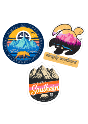 ***Simply Southern Stickers Mountain