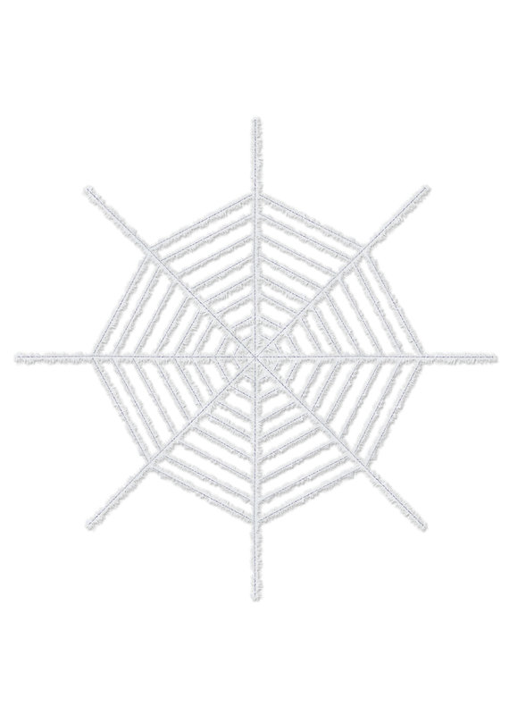 ****Giant Spider Web (White)