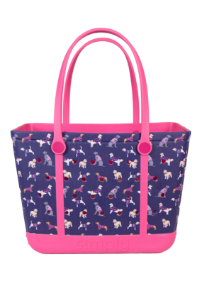 ***Simply Southern Large Waterproof Tote Bag  in Dog EVA