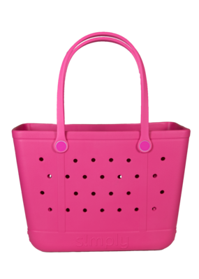 ***Simply Southern Large Waterproof Tote Bag in Pink EVA