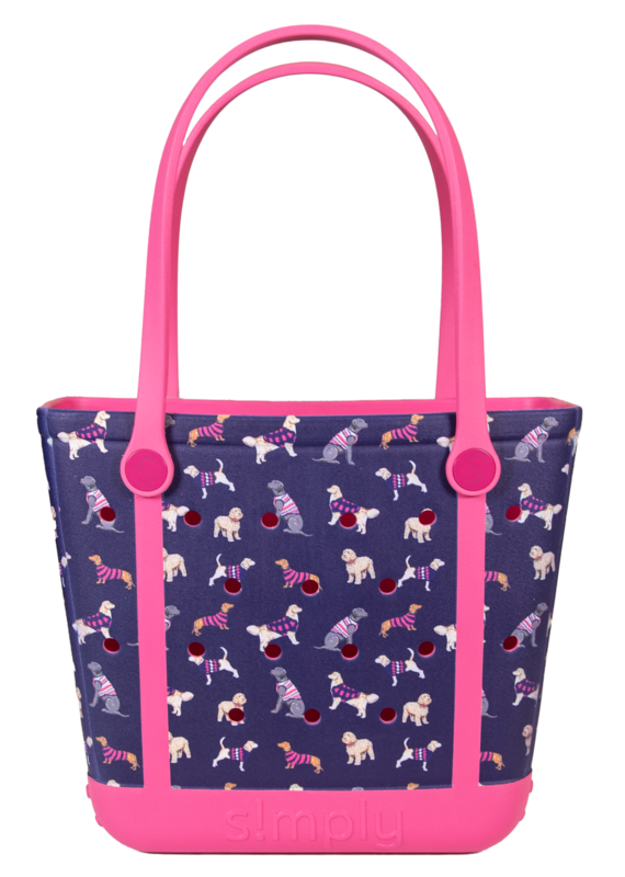 ***Simply Southern Small Waterproof Tote Bag in Dog EVA