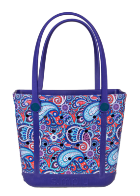 ***Simply Southern Small Waterproof Tote Bag in Paisley  EVA