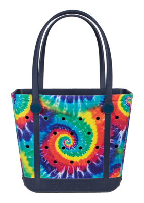 ***Simply Southern Small Waterproof Tote Bag in TieDye  EVA