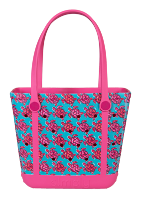 ***Simply Southern Small Waterproof Tote Bag in Turtle  EVA