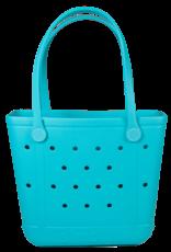 ***Simply Southern Small Waterproof Tote Bag in Blue EVA