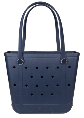 ***Simply Southern Small Waterproof Tote Bag in Navy EVA