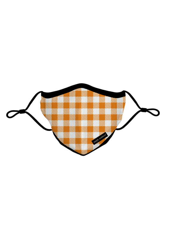 ***Simply Southern Fall Gingham Mask