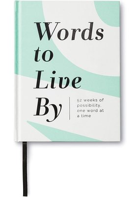 ***Words to Live By Book