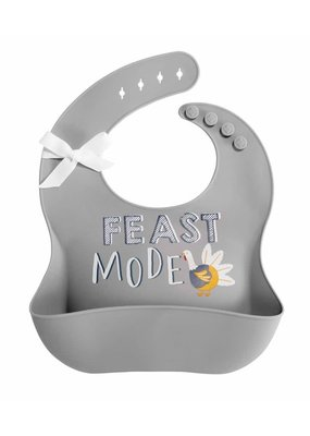 ***Thanksgiving Feast Mode Baby Silicon Bib