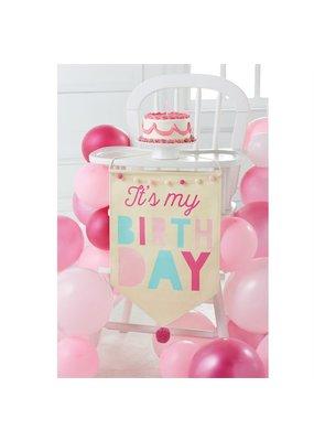 ****Birthday Girl Canvas Banner