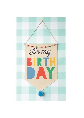 ***Boy Birthday Canvas Banner