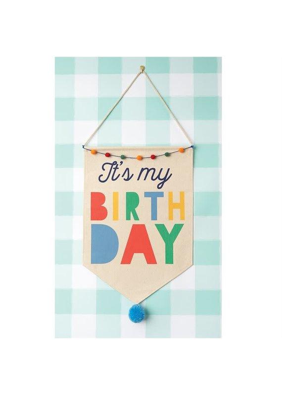 ***Boy Birthday Canvas Banner