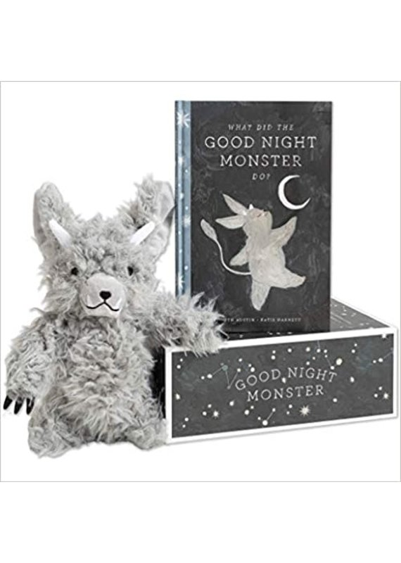 ***Good Night Monster Storybook & Plush