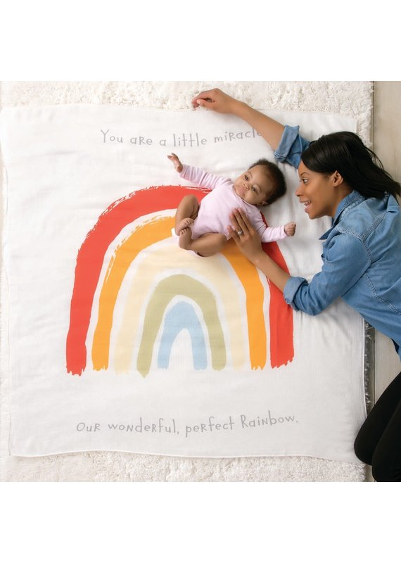 ***Rainbow Baby Picture Blanket