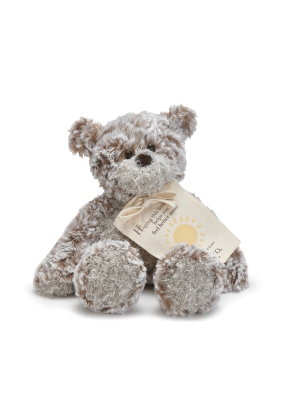 ***The Mini Giving Bear Feel Better
