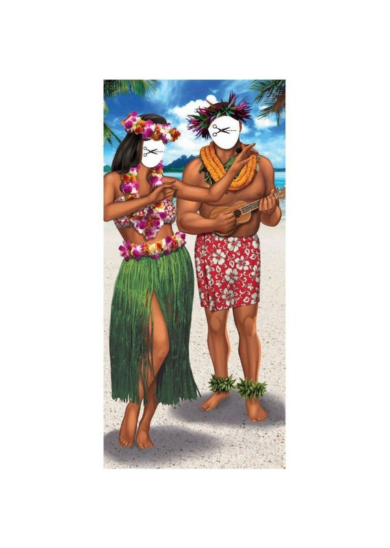 ***Luau Photo Stand in Poster